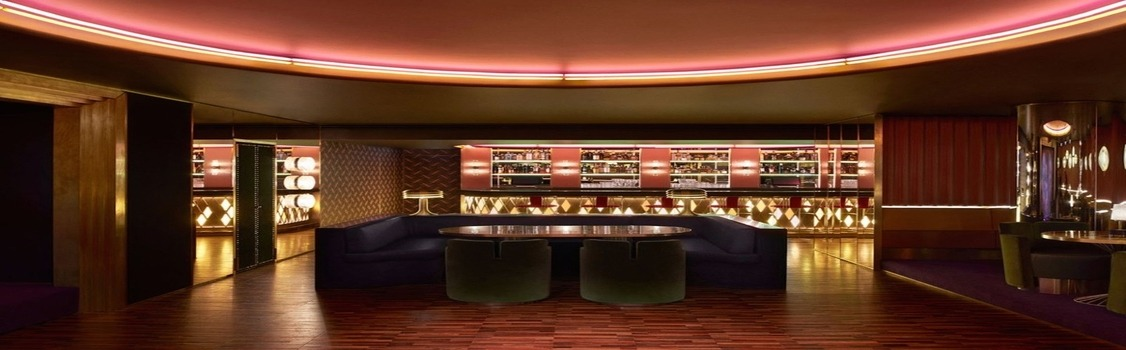 Dimore Studio interiors – an opulent bar furniture scheme at London